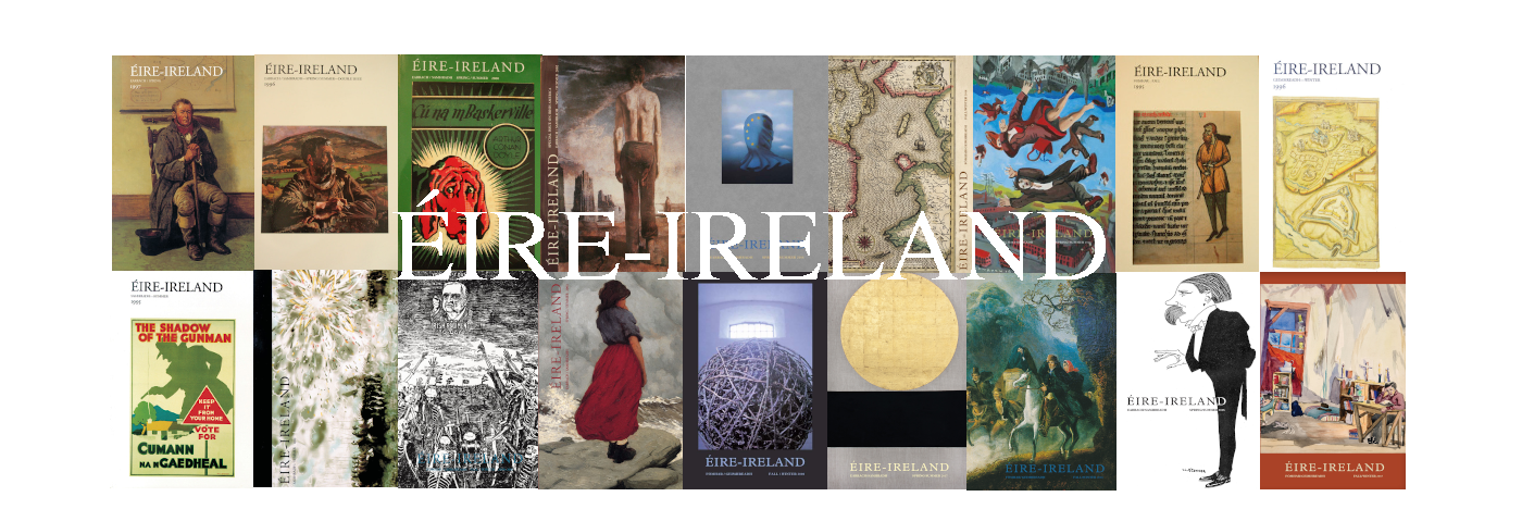 Mosaic of Covers from the Journal ´Eire-Ireland